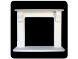China White Marble Simple Size