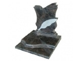 Polished Sandblast Leaf Monuments In