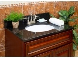 Absolute Black Granite Bathroom Vanity